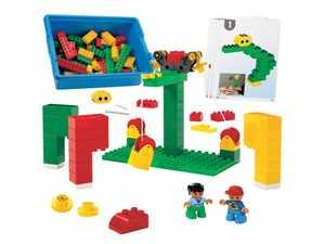 LEGO Education Machines and Mechanisms 9660 Простые структуры